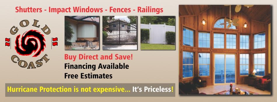 Gold Coast Hurricane Shutters - Fences Railings